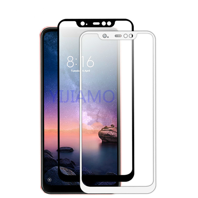 3D Glass Redmi 6 6a Note 6 Pro Tempered Glas Case On The For Xiaomi Ksiomi Red Mi 6 A A6 Note6 redmi 6pro Screen Protect Film(China)