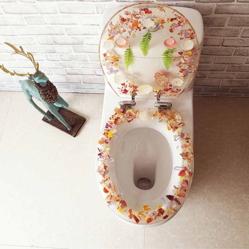 Astonishing Universal Slow Close Toilet Seats Cover Europe Style O U V Shape Resin Toilet Lid Stainless Steel Hinged Toilet Seats J18321 Machost Co Dining Chair Design Ideas Machostcouk