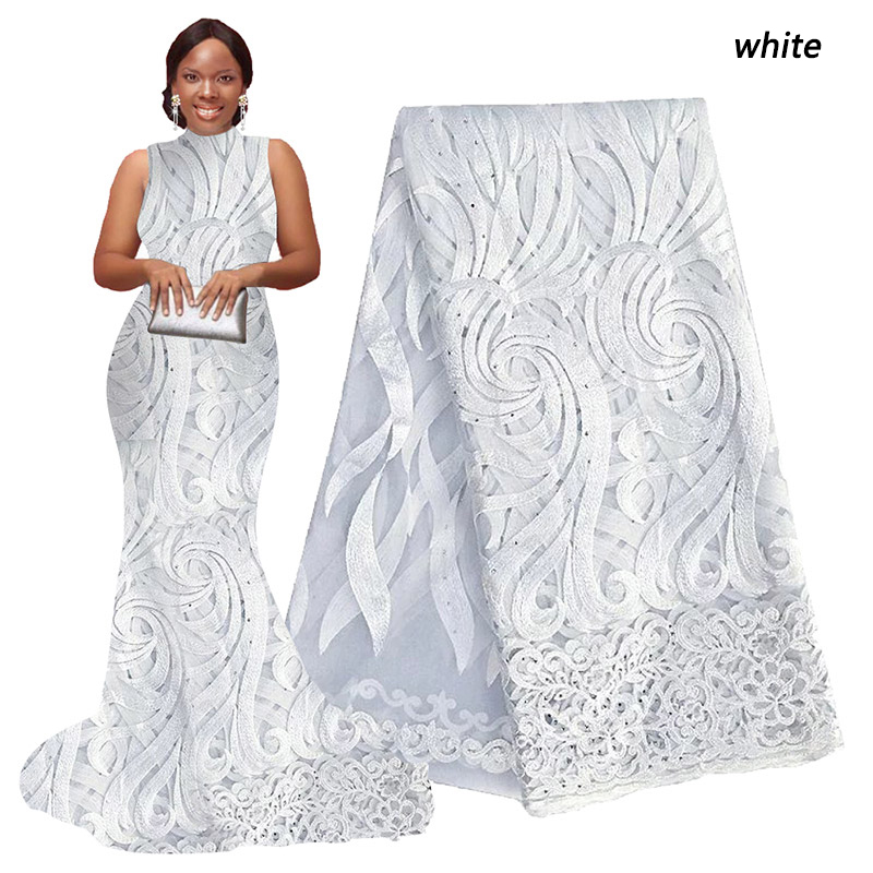 White african cord lace fabric african swiss voile lace high quality fashion french lace fabric for