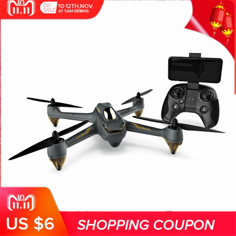 HUBSAN H501M X4 GPS Brushless RC Drone RTF WiFi FPV 1280 x 720P / Waypoints / Follow Me Mode with 720P HD Camera RTF hubsan h501m x4 waypoint brushless motor gps wifi fpv w 720p hd camera altitude hold headless mode app rc drone quadcopter rtf