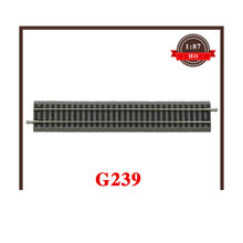 1/87 Train Model Accessories G239 With Road-based Straight Rail 55400 239mm Good Quality