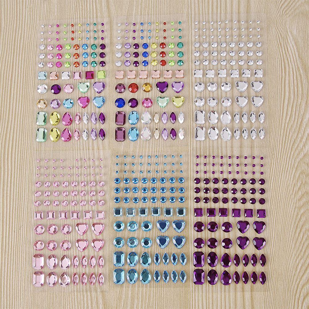 decoupage Sticky Rhinestone Gems Beads Self Stick Phones and Craft ideas