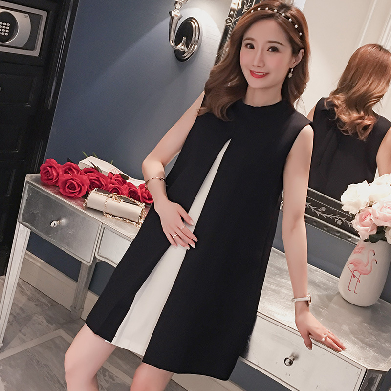 Pregnant Dresses Pregnancy Plus Size Dress Elegant Summer Round Neck Maternity Dress Bow Pregnant Dress Vestiti Donna Vestido(China)