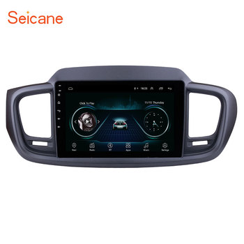 Seicane 10.1 inch 2din Android 8.1 Car Radio GPS Head Unit For KIA SORENTO 2015 2016 (LHD) Wifi Bluetooth 3G Multimedia Player image