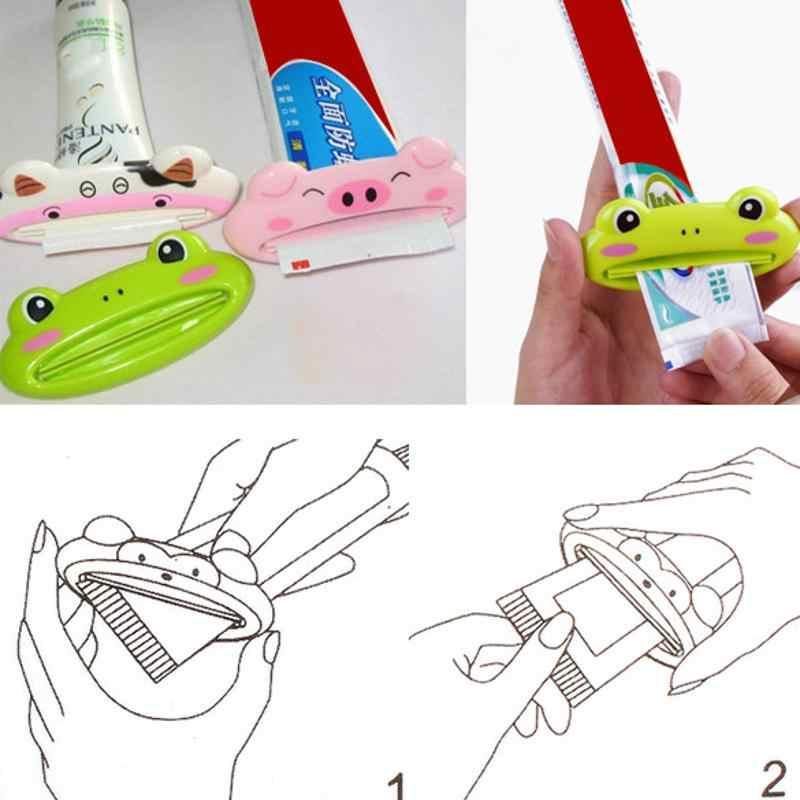Cartoon Toothpaste Squeezer Extrude Rolling Holder Cleanser Toothpaste Dispenser
