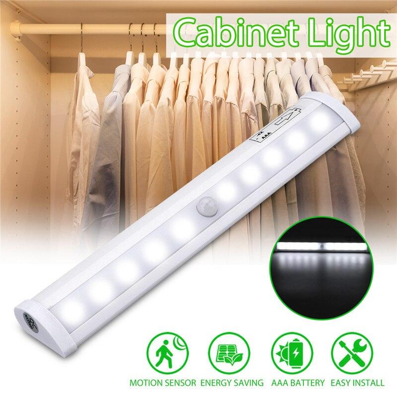 Kitchen Closet Under Cabinet Stick On 36 Led Motion Sensor: Smuxi LED Under Cabinet Light PIR Motion Sensor Lamp 10