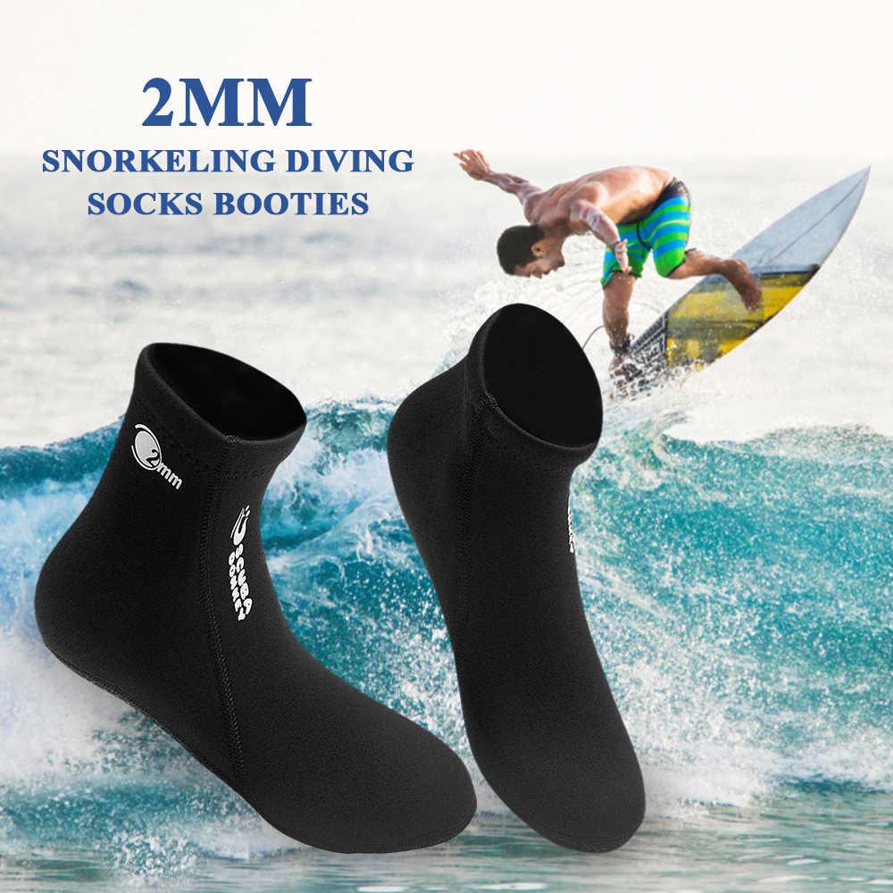 2019 2 MM Neopren Su plaj ayakkabısı Patik Erkekler Kadınlar Tüplü dalış çorapları Botları Sörf Şnorkel Dalış Botları Yüzme Ayakkabıları