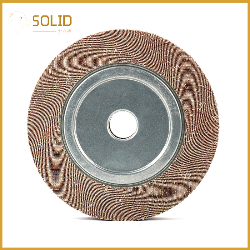 10 Inch Abrasive Flap Wheel Emery Cloth Sanding Disc For Grinding Derusting Of Metal Automobile Manufacturing And Aluminum Alloy
