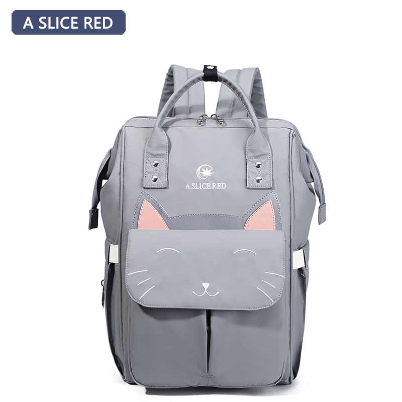 28b6e1c299 A SLICE RED Baby Diaper Bag Backpack Mom Stroller Nappy Changing Mommy  Maternity Organizer Wet Bags
