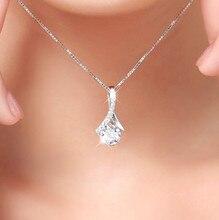 Collier Amethyste Necklace Diamond Pendant Female Jewelry for Women Bijoux or Bizuteria Colgante Sliver De Ley 925 Mujer Pendant