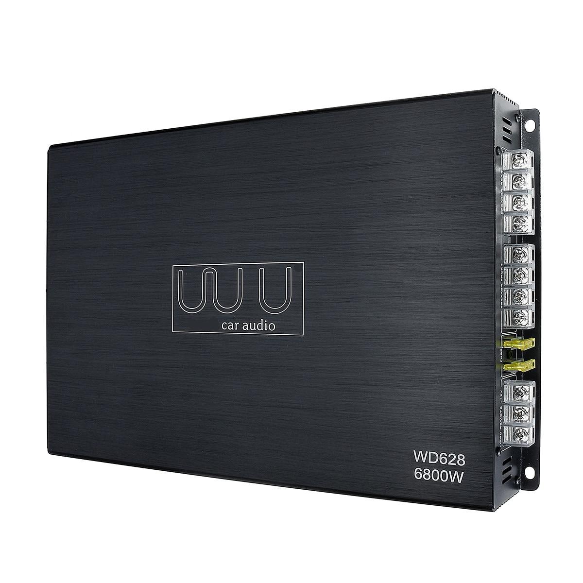 DC 12 V 6800 Watt 4 canaux amplificateur de voiture Audio stéréo haut-parleur de basse voiture amplificateurs Audio Subwoofer voiture amplificateurs Audio - 5