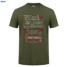GILDAN  style mens t shirts Black Label Society Destroy & Conquer T Shirt Zakk Wylde New Merch Design Cool Summer Tops