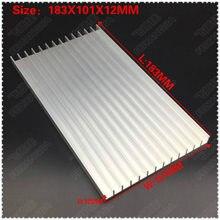 Радиатор 1 шт 183x101x12 мм алюминиевый радиатор экструдированный