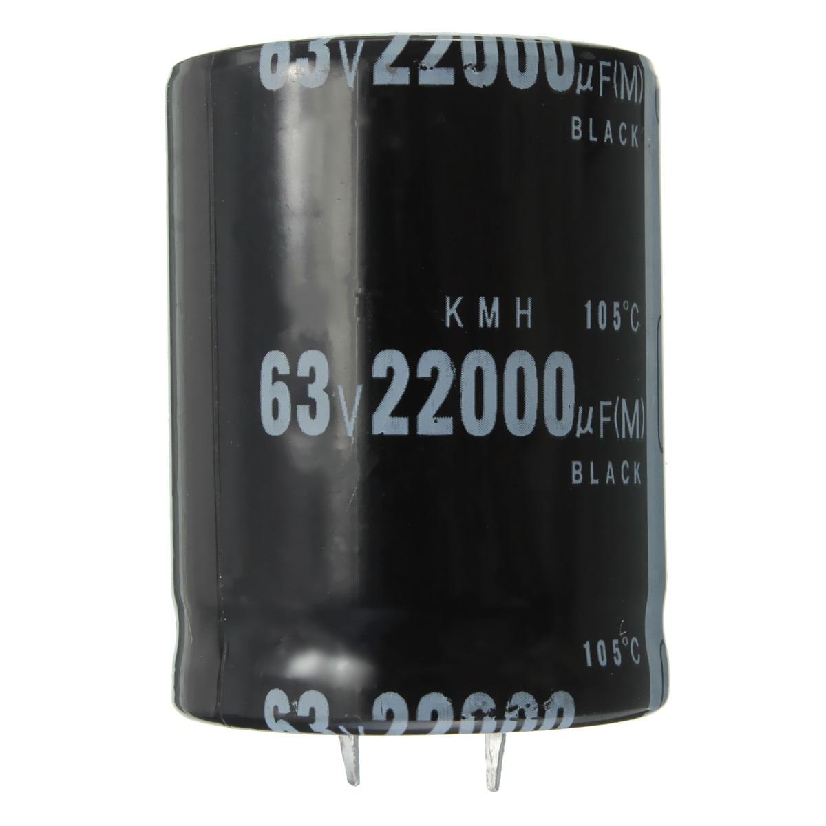 Алюминиевый электролитический конденсатор TMOEC, размер 35x50 мм, цилиндрический, 63 в, 105 мкФ, 22000 градусов
