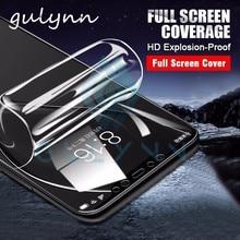 Новинка 10D полное покрытие Гидрогелевая пленка для Xiaomi Mi A2 8 Lite HD защита экрана мягкая пленка для Poco Phone F1 Redmi 6A 7 6 Note 6 Pro
