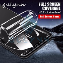 חדש 10D מלא כיסוי הידרוג ל סרט לשיאו mi Mi 9 9T לייט HD מסך מגן רך סרט עבור אדום mi 10X הערה 7 8 9 9S 8T פרו כיסוי