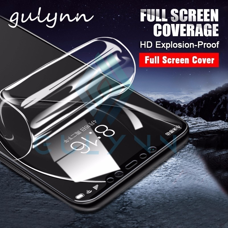 New 10D Full Cover Hydrogel Film For Xiaomi Mi A2 8 Lite HD Screen Protector Soft Film For Poco Phone F1 Redmi 6A 7 6 Note 6 Pro