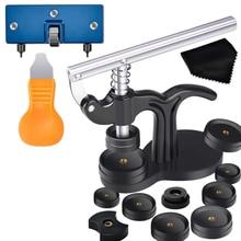 16 шт. инструмент для прессования часов с набором сменных инструментов для часов и фитингами для снятия задней крышки