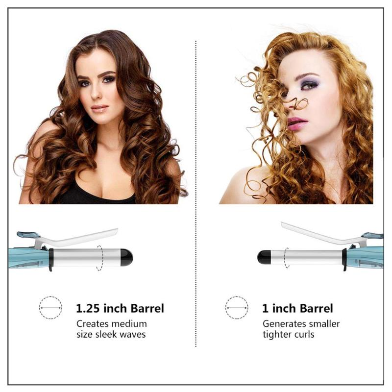 EU Plug Professional Ceramic Hair Curler Steam Spray Hair Roller Automatic Hair Curling for Hair Styling Hairdressing Tools