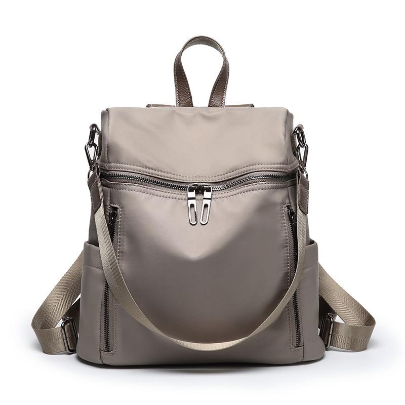 Haute qualité femmes sacs à dos en cuir femmes sac à dos 2019 Feminina loisirs sacs d'école pour les adolescentes filles voyage retour C587