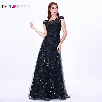 Lace Mother Of The Bride Dresses Ever Pretty Farsali Sparkle Dot Cap Sleeve Long Wedding Guests Dresses 2020 Vestido De Madrinha 1