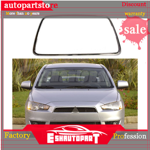 Front Bumper Radiator Molding Grill Chrome 10 2007 2014 For Mitsubishi Lancer X