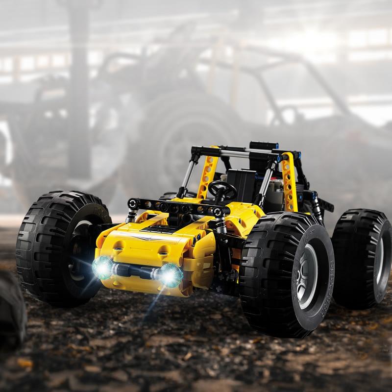 CaDA C51043W Building Blocks RC Cars All Terrain Vehicle High Simulation Buggy Model 2 4G Wireless