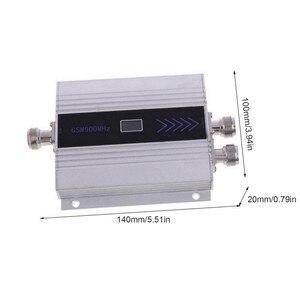 LCD GSM 900 Mhz هاتف محمول مكرر إشارة الداعم مكبر للصوت + ياغي هوائي مقابس انجليزية مكرر إشارة الهاتف الداعم مكبر للصوت