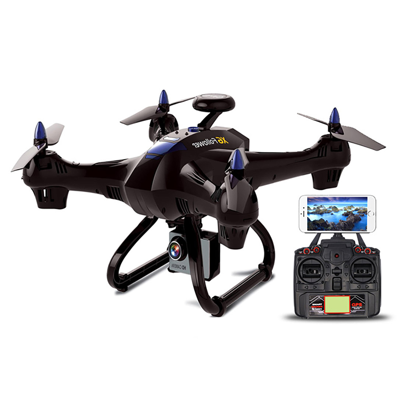 Drone-X183 Quadcopter Professional Hd-Camera Global Follow-Me Dual-Gps With FPV RC Aircraft