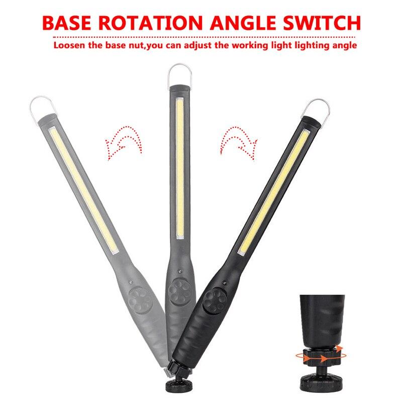 luzes de trabalho com magnetic 5 modos lanterna led do 02