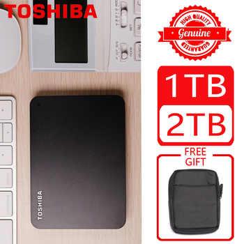 """東芝 1 テラバイト 2 テラバイト 3 テラバイト外部 HDD 1000 ギガバイト HD ポータブルハードドライブディスク USB 3.0 SATA3 2.5 \""""HDTB110A 100% オリジナル新 - DISCOUNT ITEM  28% OFF パソコン & オフィス"""