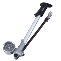 300PSI Suspension Mountain Bike Fork Shock Pump with Gauge MTB High Pressure Bicycle Pump Air Fork Cycling Bicycle Accessories