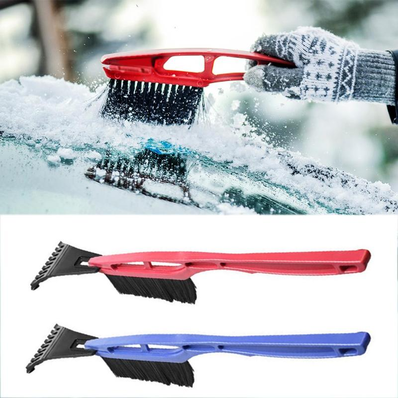 Multipurpose Long Handle Snow Removal Brush Scraper Ice Shovel Car vehicle