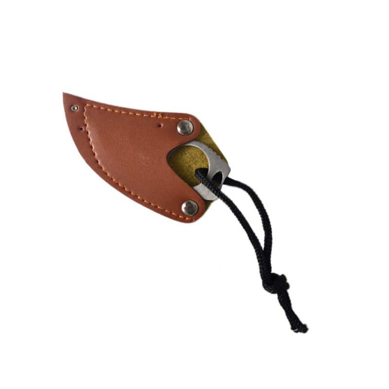 المحمولة سكين أداة خارجية بقاء الدفاع عن النفس مخلب صغير سكين الجلود غمد المجال بقاء الدفاع سكين المنزل الشخصية