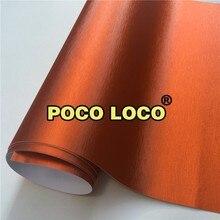 Оранжевый матовый атлас хромовый ПВХ самоклеящаяся пленка топливных щитков заднего бампера Топы приборные панели консолей дверные столбы