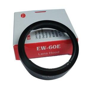 Image 3 - 10 قطعة EW 60E EW60E عدسة هود لكانون EOS متر M2 M3 EF M 11 22 مللي متر f/4 5.6 هو STM 55 مللي متر مع صندوق حزمة