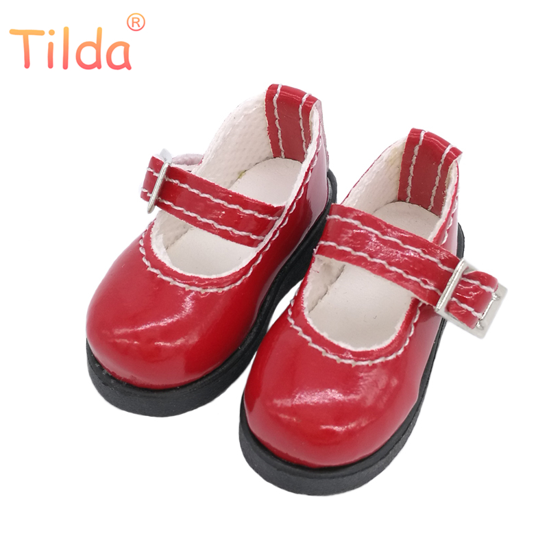 Tilda 5cm 1/6 PU Leather Shoes for BJD SD Dollfie Dolls Costome Dolls Accessories Creative Gifts Presents Summer Puppet ShoesTilda 5cm 1/6 PU Leather Shoes for BJD SD Dollfie Dolls Costome Dolls Accessories Creative Gifts Presents Summer Puppet Shoes