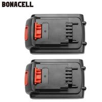 Bonacell 2pcs Li Ion LB20 Battery for Black & Decker LBXR20 LB20 LBX20 ASL186K BDCDMT120 CHH2220 LD3K220 LPP120 LST120 L10
