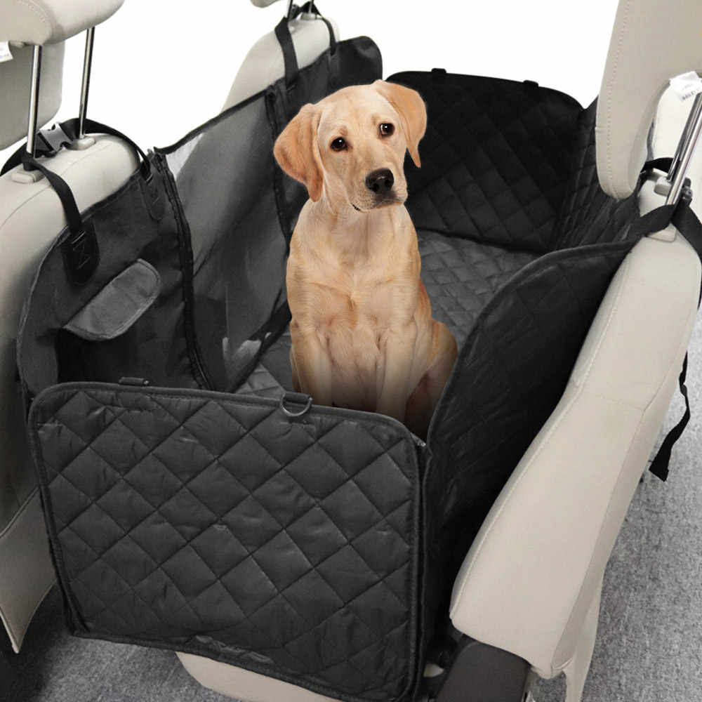 Backseat Dog Hammock >> Pet Car Seat Cover For Pets Dog Seat Cover Car Hammock With Mesh Window Pet Backseat Protector Mat Pet Seat Cover Dod Hammock