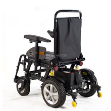 2019 Free shipping High quality commode chair electric wheelchair suitable for the elderly and disabled