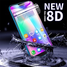 New 8D Soft Full Cover Screen Protector For Huawei P 30 20 30Pro Honor 10 9 8C 8A Lite Hydrogel Film On Nova 4E 4 3i Not Glass
