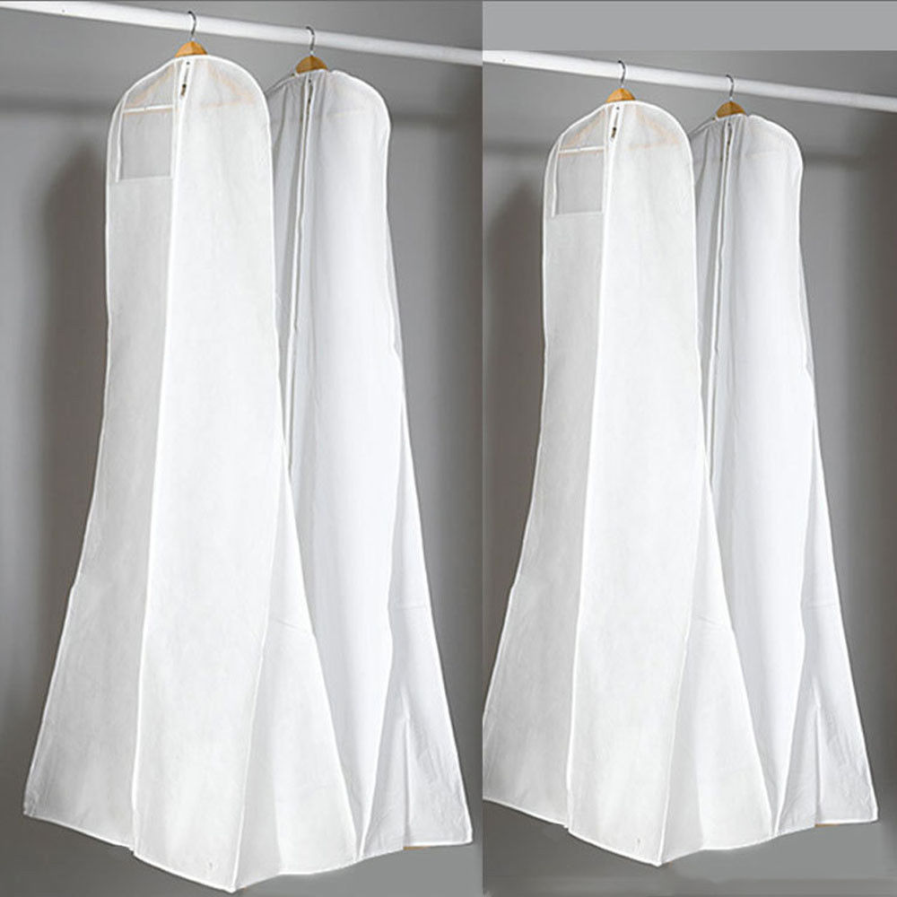 Storage Bag Covers for Wedding Dress Gown Clothes Protector Case Wedding Dress Dustproof Cover Portector
