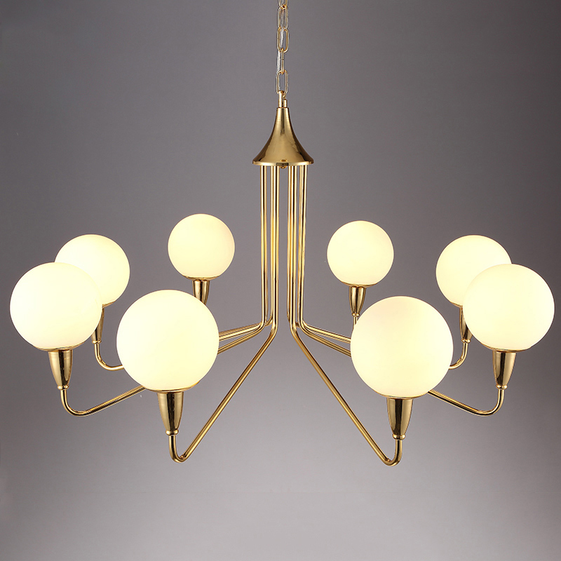 Nordic Gold Luxury Glass LED Pendant Lmaps Fixtures Lustre Gold Dining Room Led Pendant Lights Lighting Luminaria Fixtures Avize in Pendant Lights from Lights Lighting