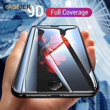 CASEIER 9D Full Coverage Phone Screen Protector For Samsung Galaxy A6 A8 J4 J6 2018 A3 J5 2017 Tempered Glass HD Films