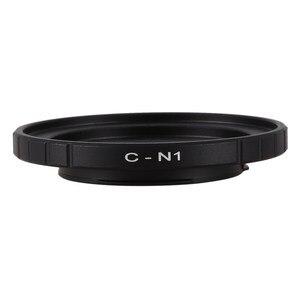 Image 2 - Czarne 16mm C do montażu na Cine film obiektyw do Nikon 1 do montażu na J1 V1 J2 V2 J3 V3 J4 Adapter do obiektywu pierścień C N1 C Nikon 1