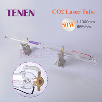 CO2 Laser Tube 50W 1000 mm Dia. 55mm CO2 Glass Tube For Laser Carved Chapter Engraving Marker Cutting Machine Equipment Parts