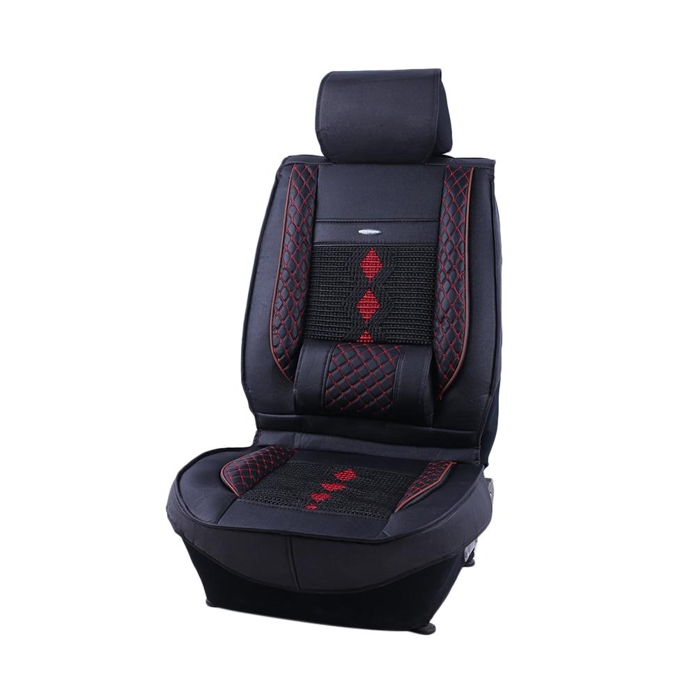 Quatre saisons Durable respirant Portable 3D tout compris confortable siège de voiture coussin glace soie siège couverture pour voiture véhicule Auto