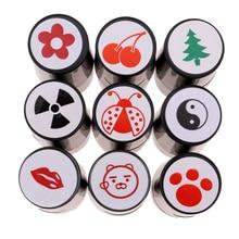 Быстросохнущий пластиковый цветной штамп для мяча для гольфа, маркер для мяча для гольфа, подарок для гольфа
