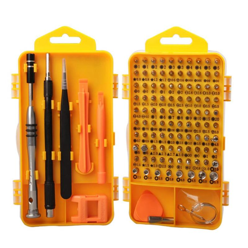 110 In 1 Magnetic Precision Screwdriver Set Computer PC Mobile Phone Digital Electronic Device Repair Hand Tools