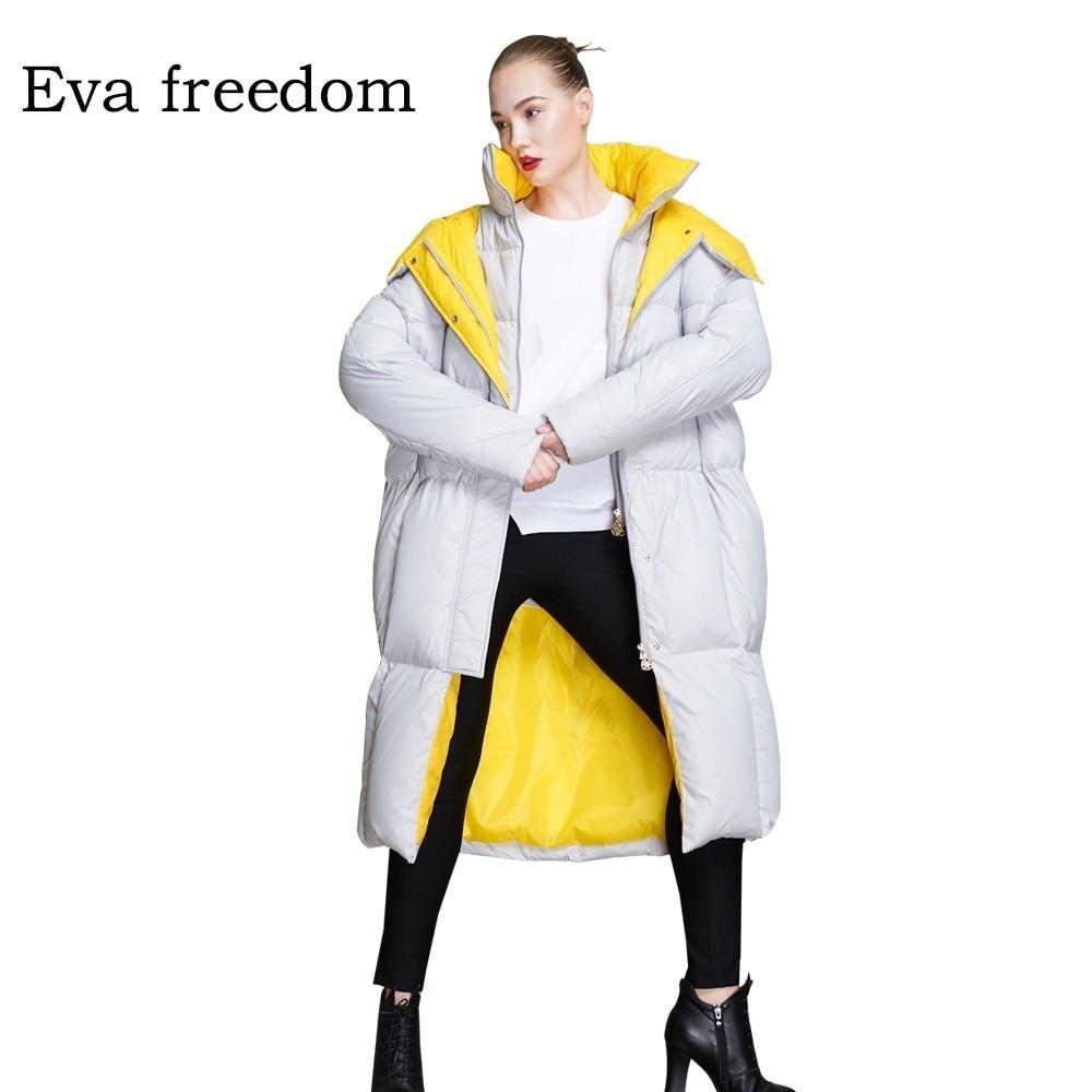 2018 Winter down jacket women hooded womens down jacket brands women's fashion down coat winter oversize down jacket 18068